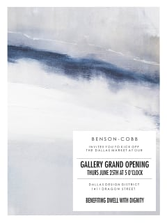 Benson-Cobb Gallery + Studio Grand Opening Event