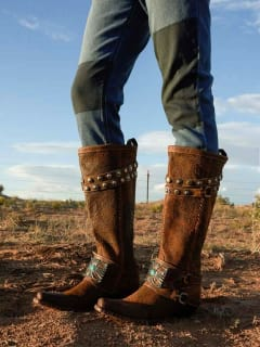 Old Gringo and Double D Ranch Boots Rodeo Trunk Show
