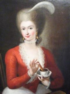 Places-A&E-Cavalier Fine Art-Rococo lady painting
