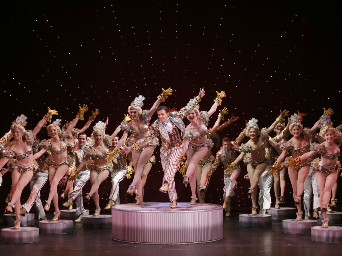 Blake Stadnik and Company in national tour of 42nd Street