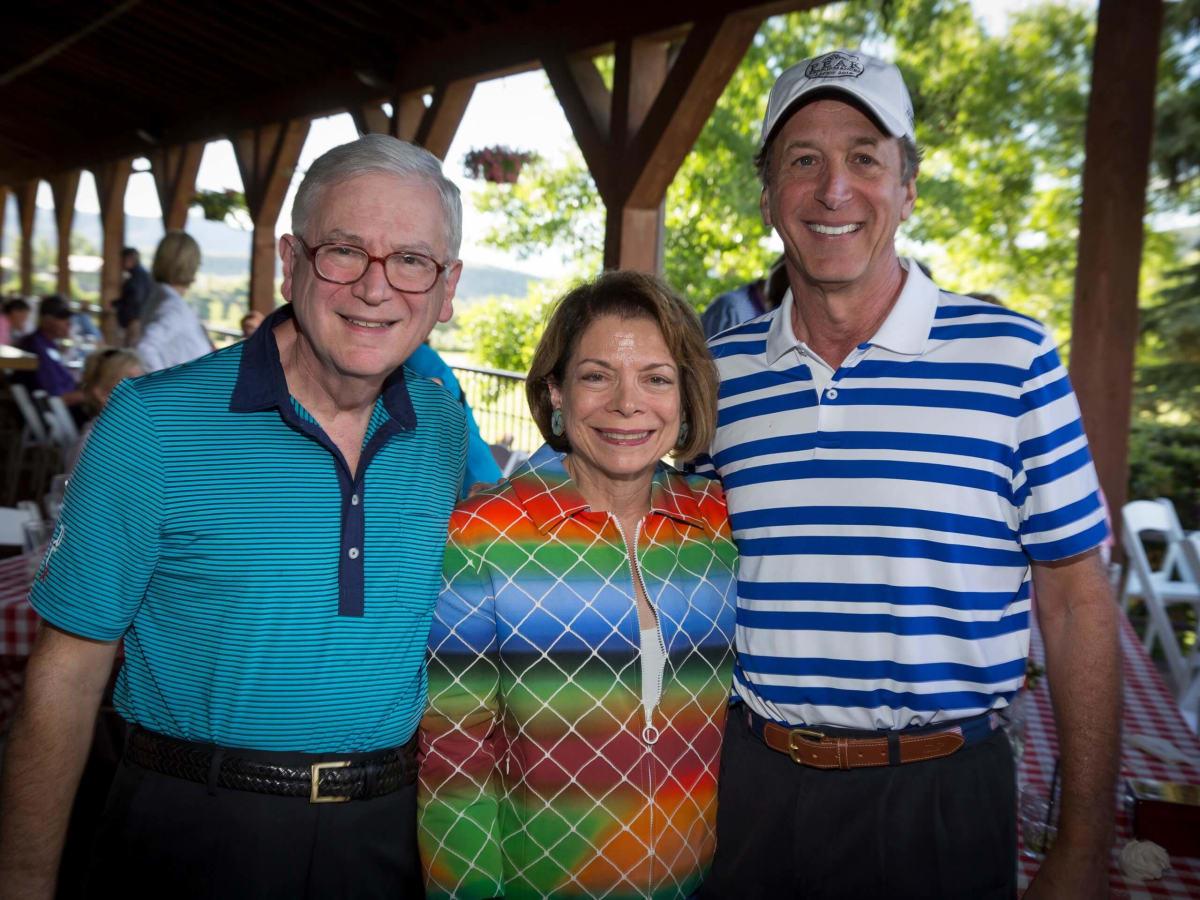 Houston Methodist in Aspen, July 2016, Dr. Eric Haufrect, Joyce Haufrect, Jack Dinerstein