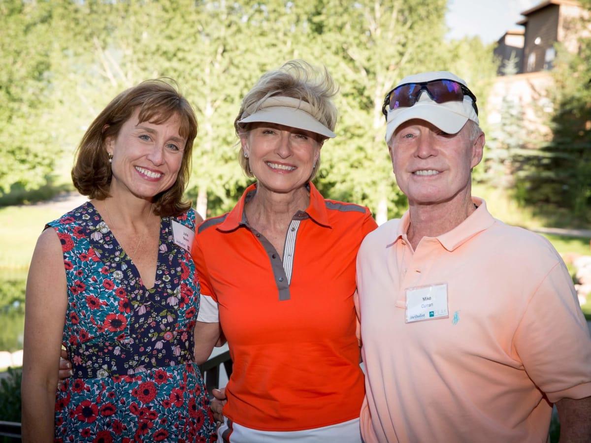 Houston Methodist in Aspen, July 2016, Dr. Jullie Boom, Dr. Veronica Selinko Curran, Mike Curran