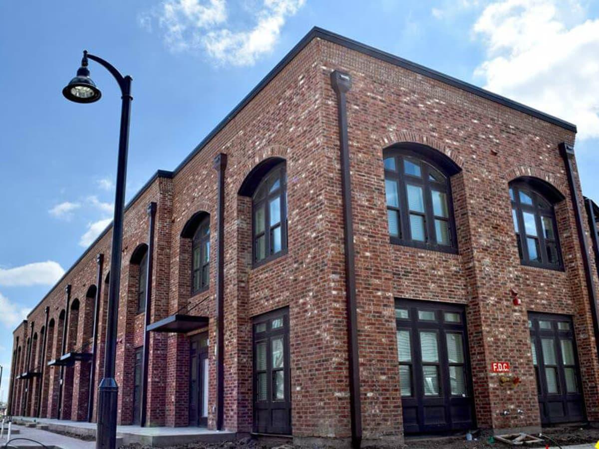 The Brickyard apartment community in Farmers Branch