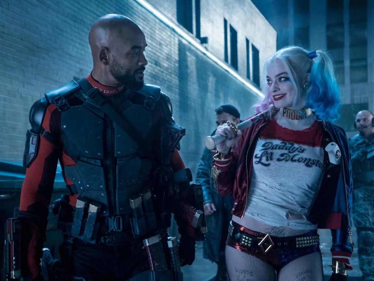 Will Smith and Margot Robbie in Suicide Squad