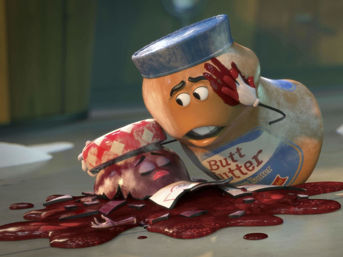 Peanut Butter and Jelly in Sausage Party