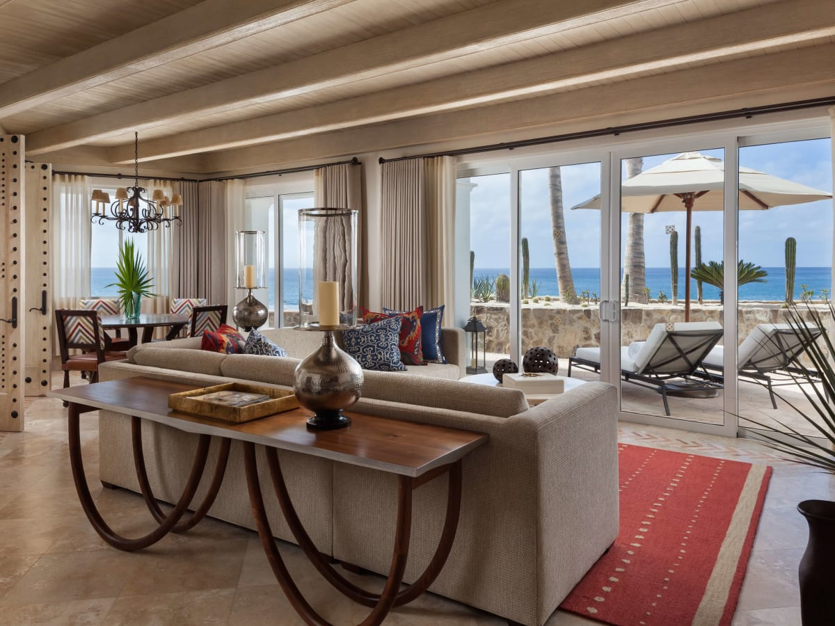 One&Only Palmilla ocean front one bedroom pool Casita suite at Cabo San Lucas