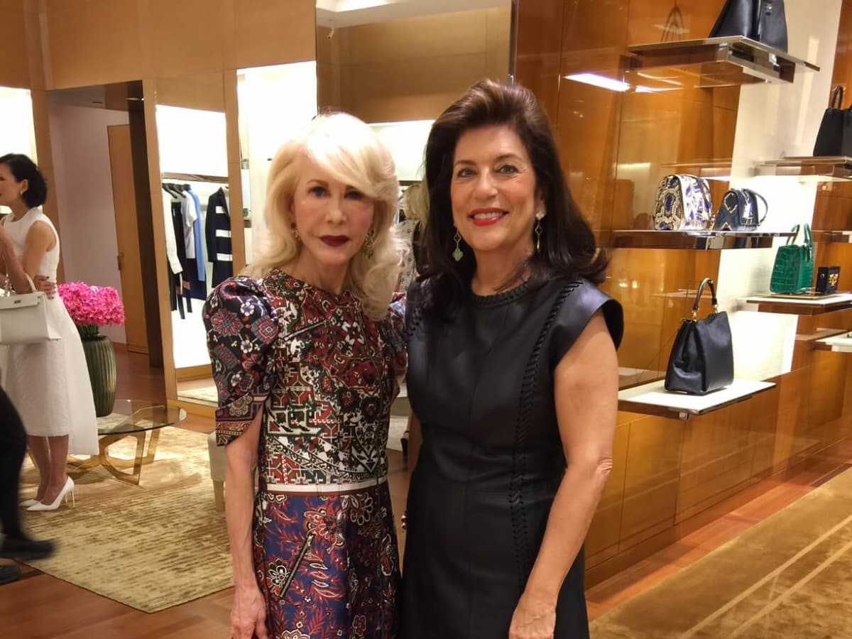 Vogue, Louis Vuitton lunch, 9/26 Diane Lokey Farb, Dancie Ware