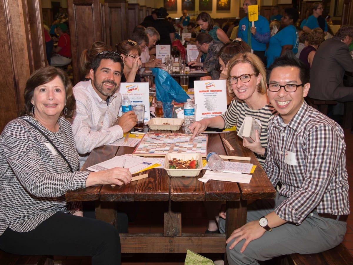 Scrabble in the City, Houston, 9/16, Tracy Janda; Geoff Castro; Eydie Pengelly; Gregory Gee