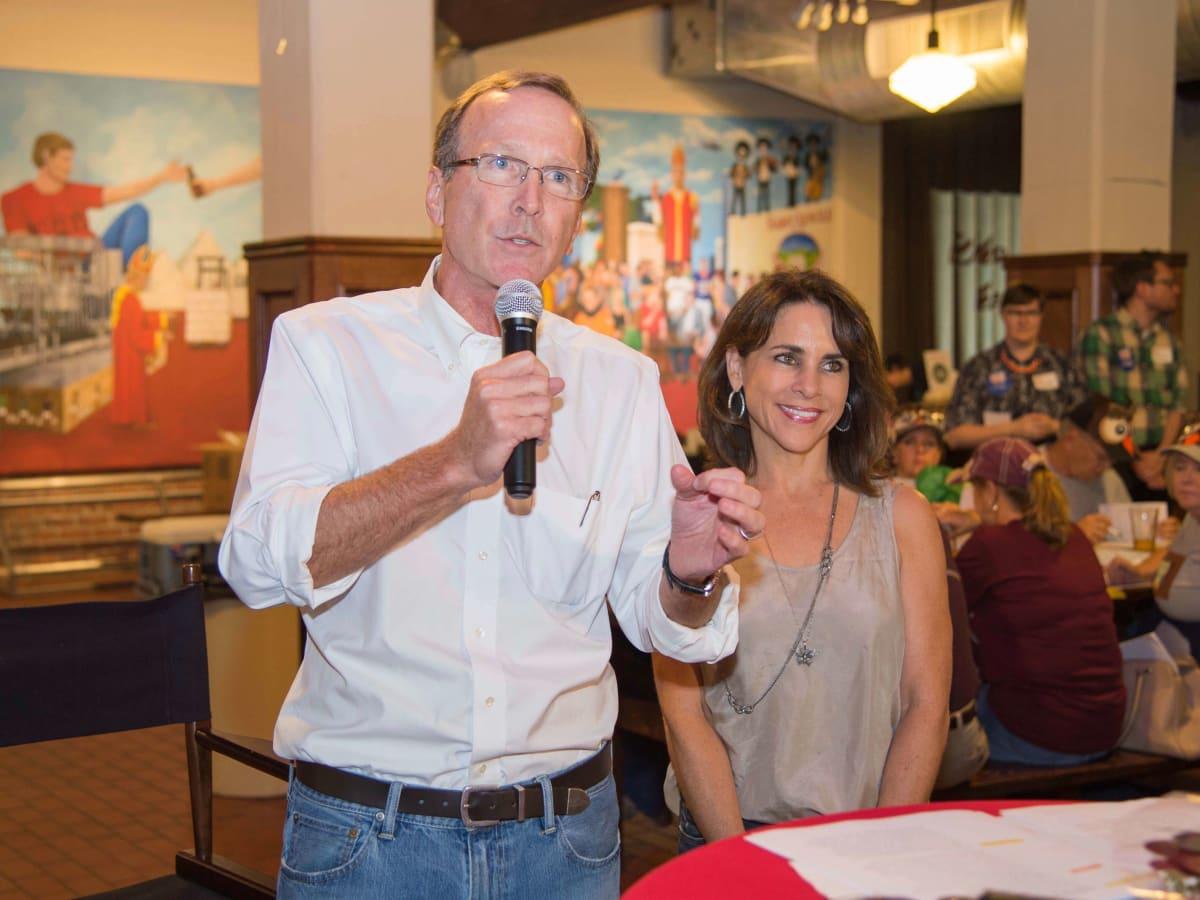 Scrabble in the City, Houston, 9/16, Neil Bush, Maria Bush