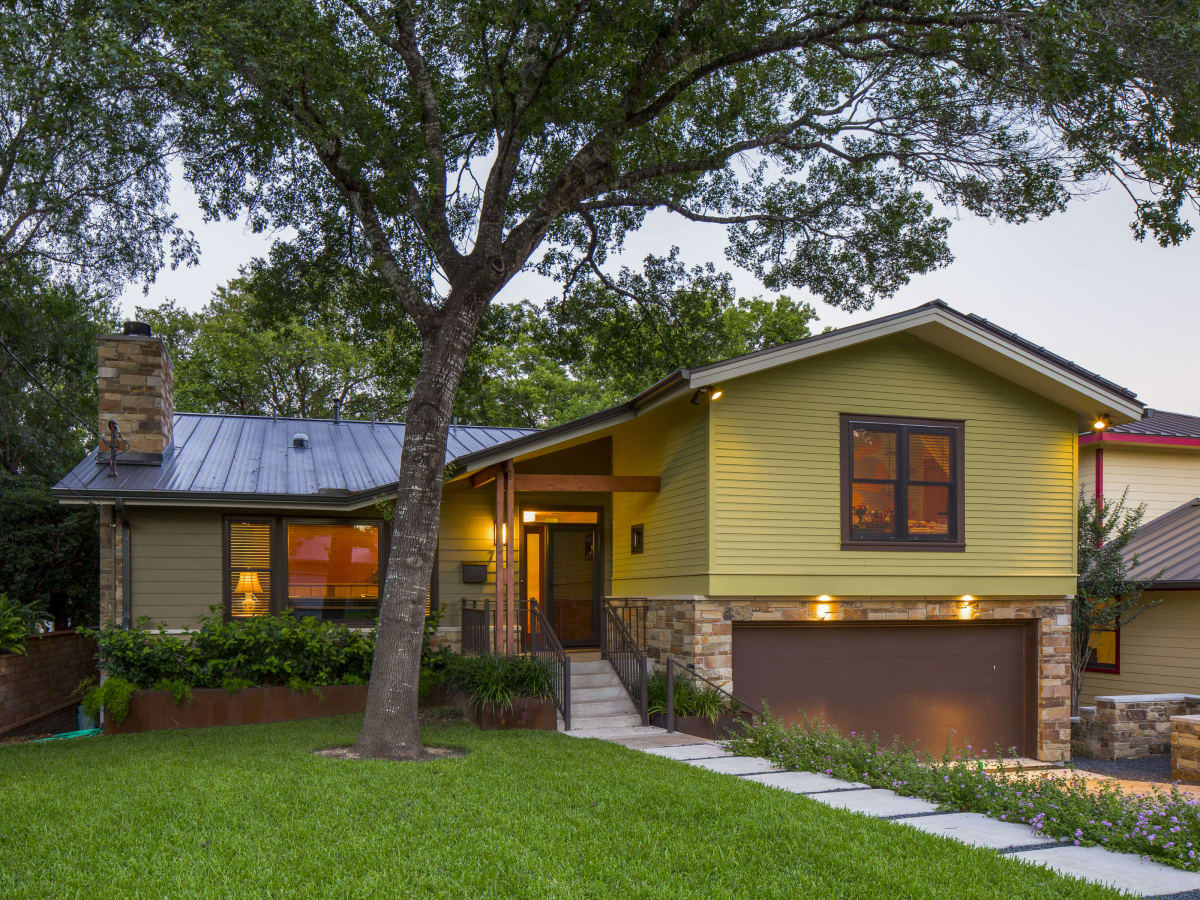 Jessie Street home front Austin tour of remodeled homes