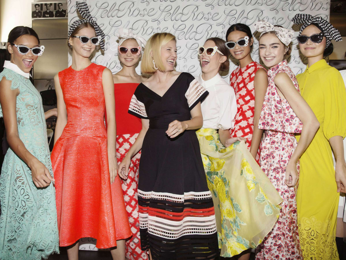 Lela Rose spring 2017 collection and models