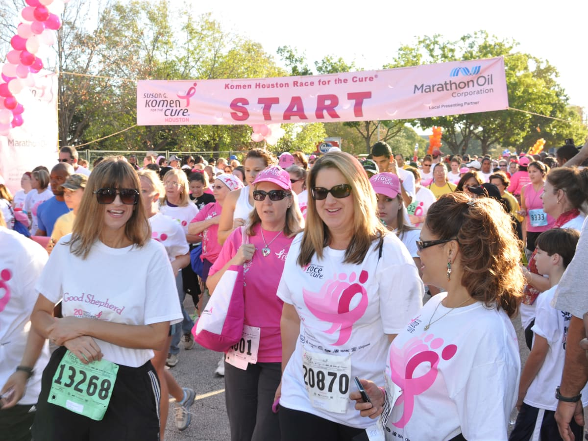 Komen Houston Race for the Cure 2012