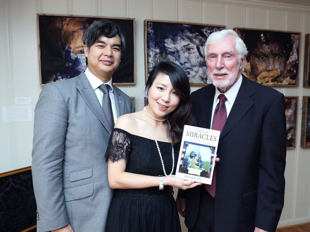 Lee Hilling event, 9/16 Sujiro Seam, Jane Seam, Lee Hilling