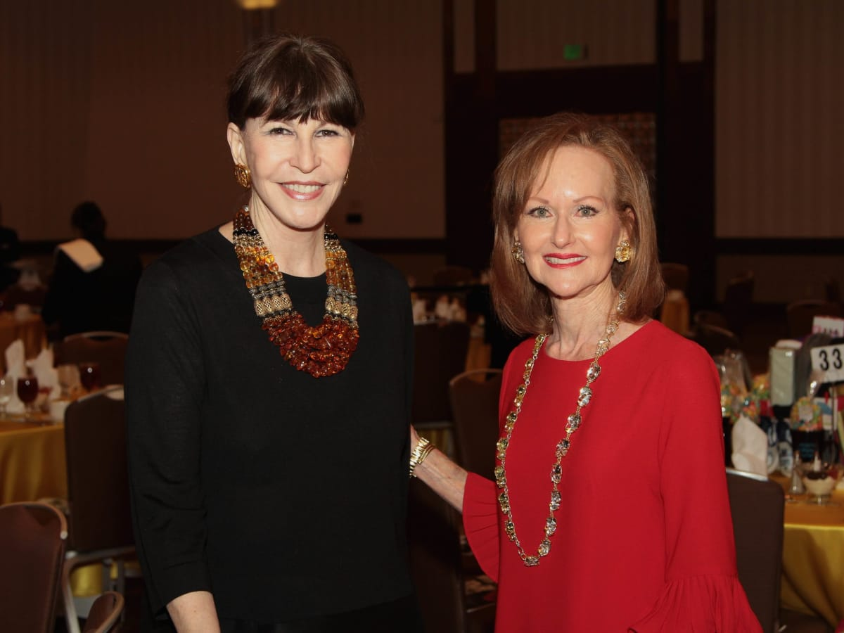 Houston Children's Charity 20th anniversary, 9/16  Shelby Hodge, Carol Sawyer