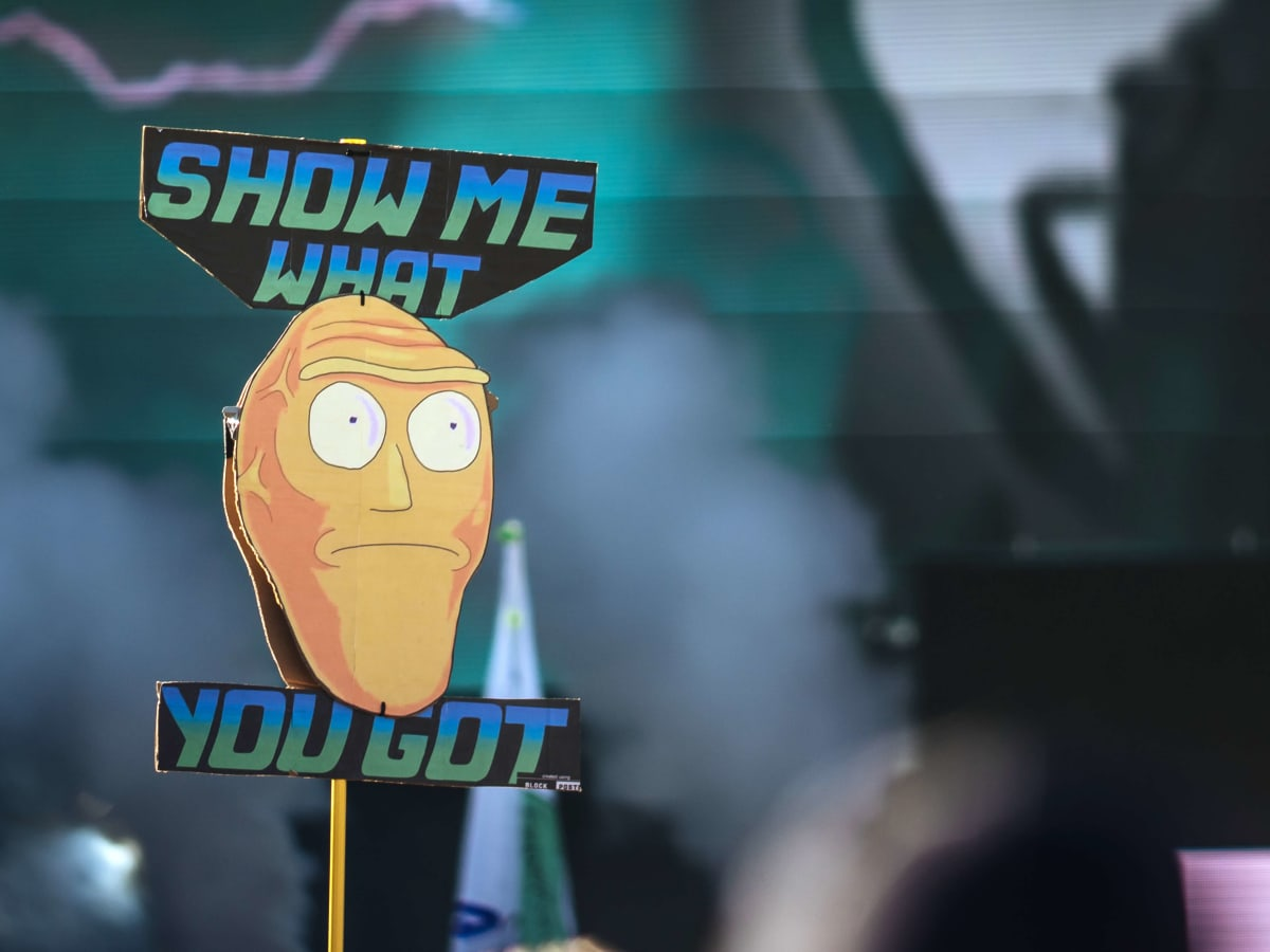 ACL Austin City Limits Music Festival 2016 flags Rick and Morty