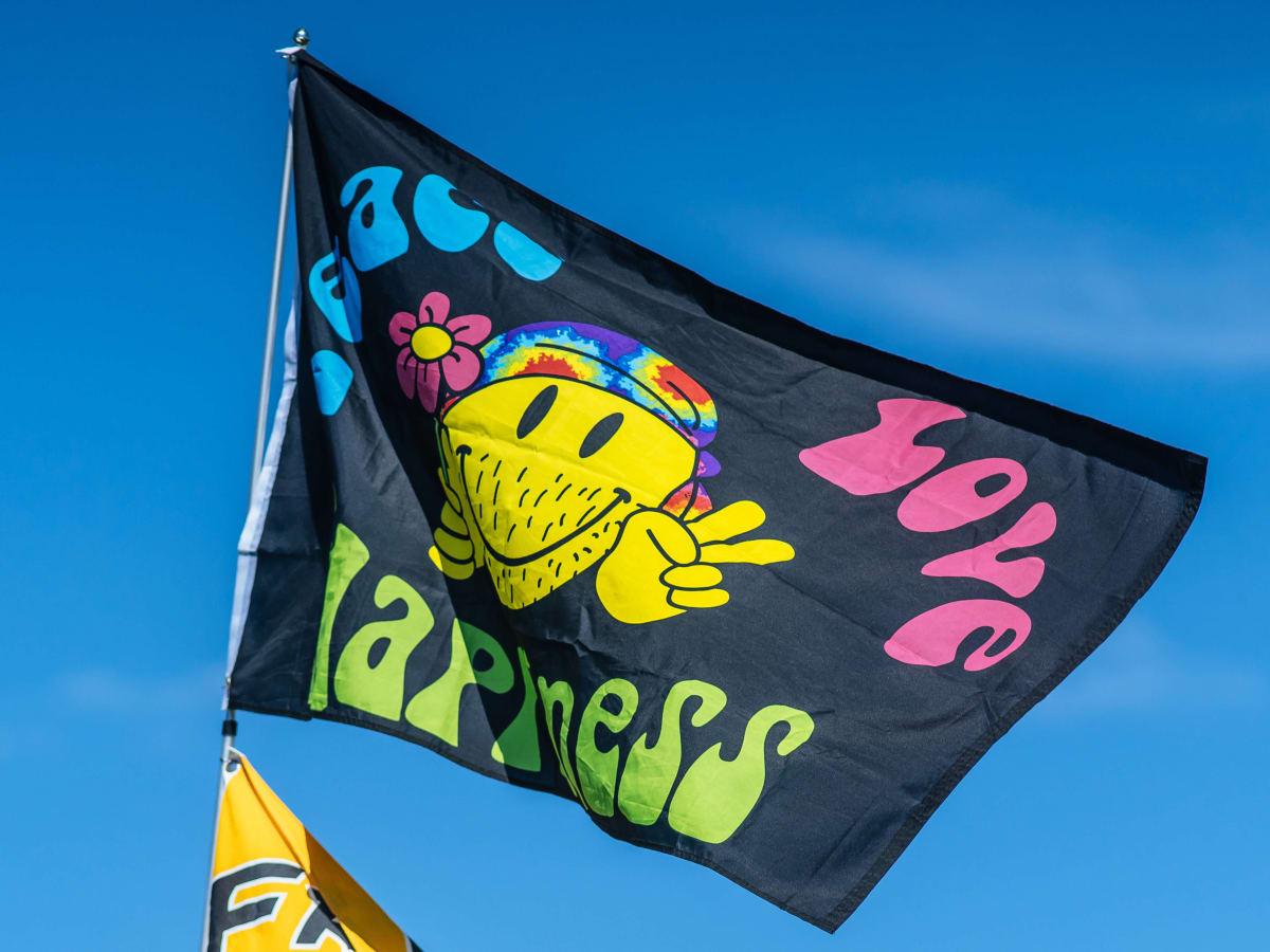 ACL Austin City Limits Music Festival 2016 flags hippe