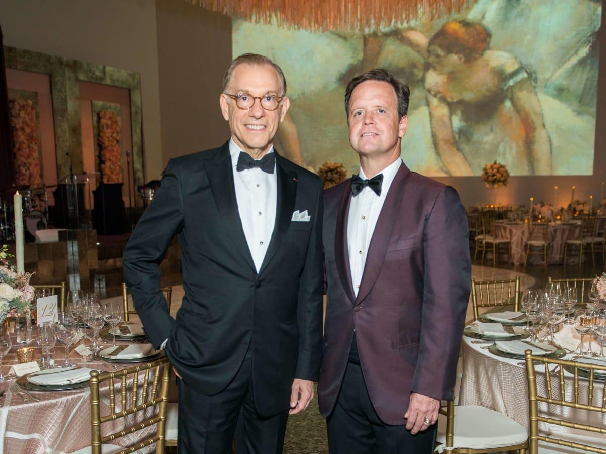 Gary Tinterow, Christopher Gardner at Museum of Fine Arts Houston Grand Gala