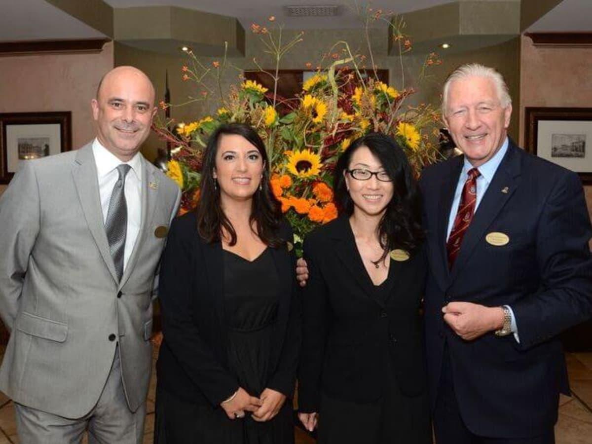 Houston, Hotel Granduca Houston's 10th Anniversary, Oct. 2016, Ludovic Poirier, Alexandra Alvarez, Kami Manchen, Martin Nicholson
