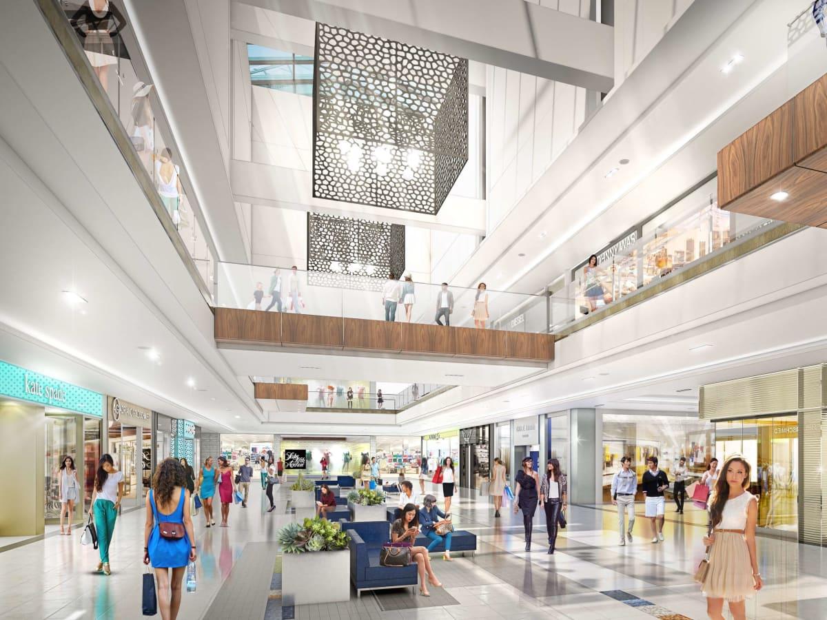 Rending of Galleria near new Saks Fifth Avenue