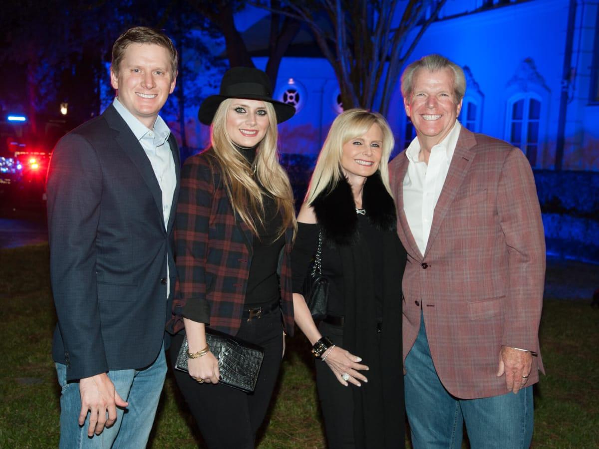 Houston, HPD True Blue Gala, Oct. 2016, Bill Gutknecht, Christine Falgout, Jo Lynn, Gregg Falgout