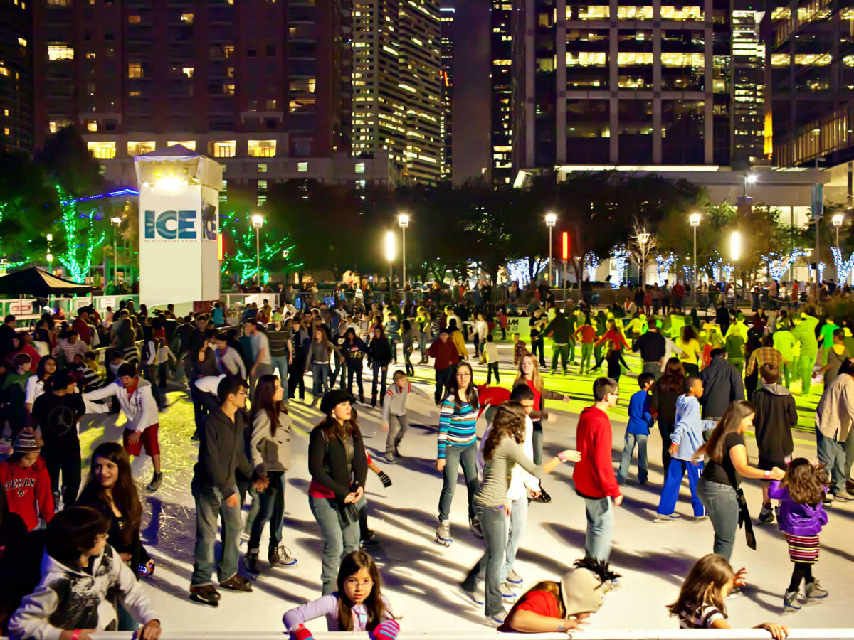 Discovery Green presents Frostival and The Ice