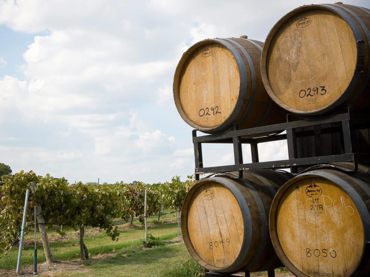 News_Messina Hof_wine barrels