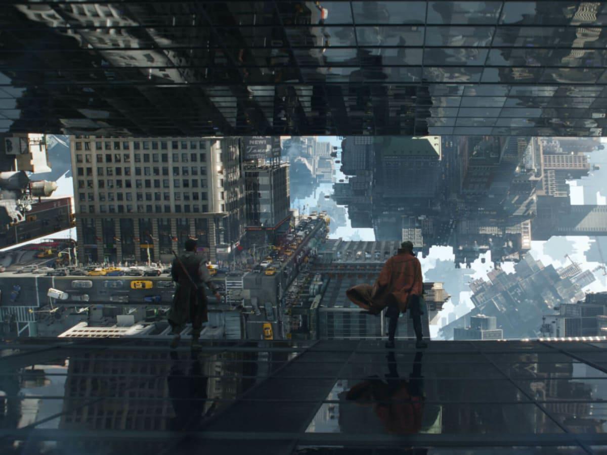 Magic landscapes in Doctor Strange