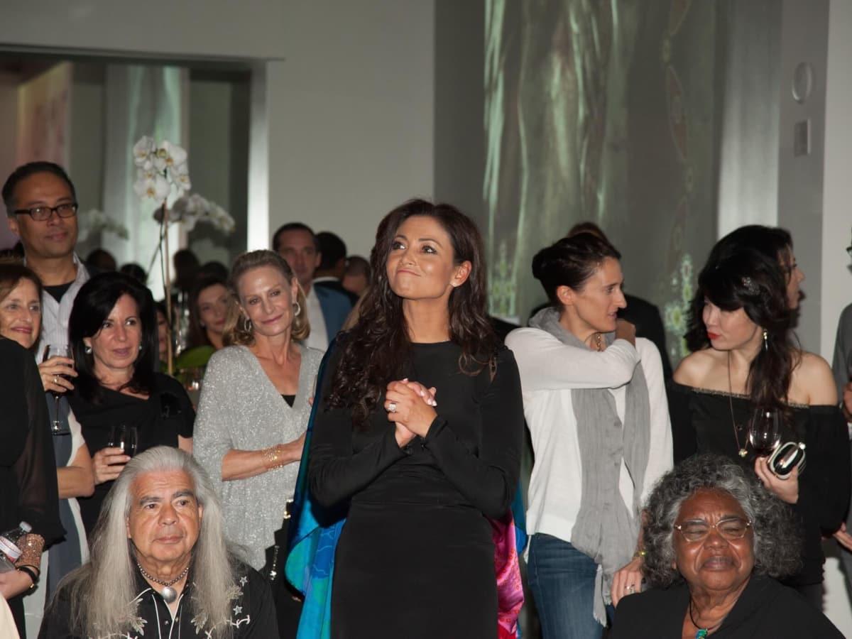 Fadila Kibsgaard at Nomad fundraiser