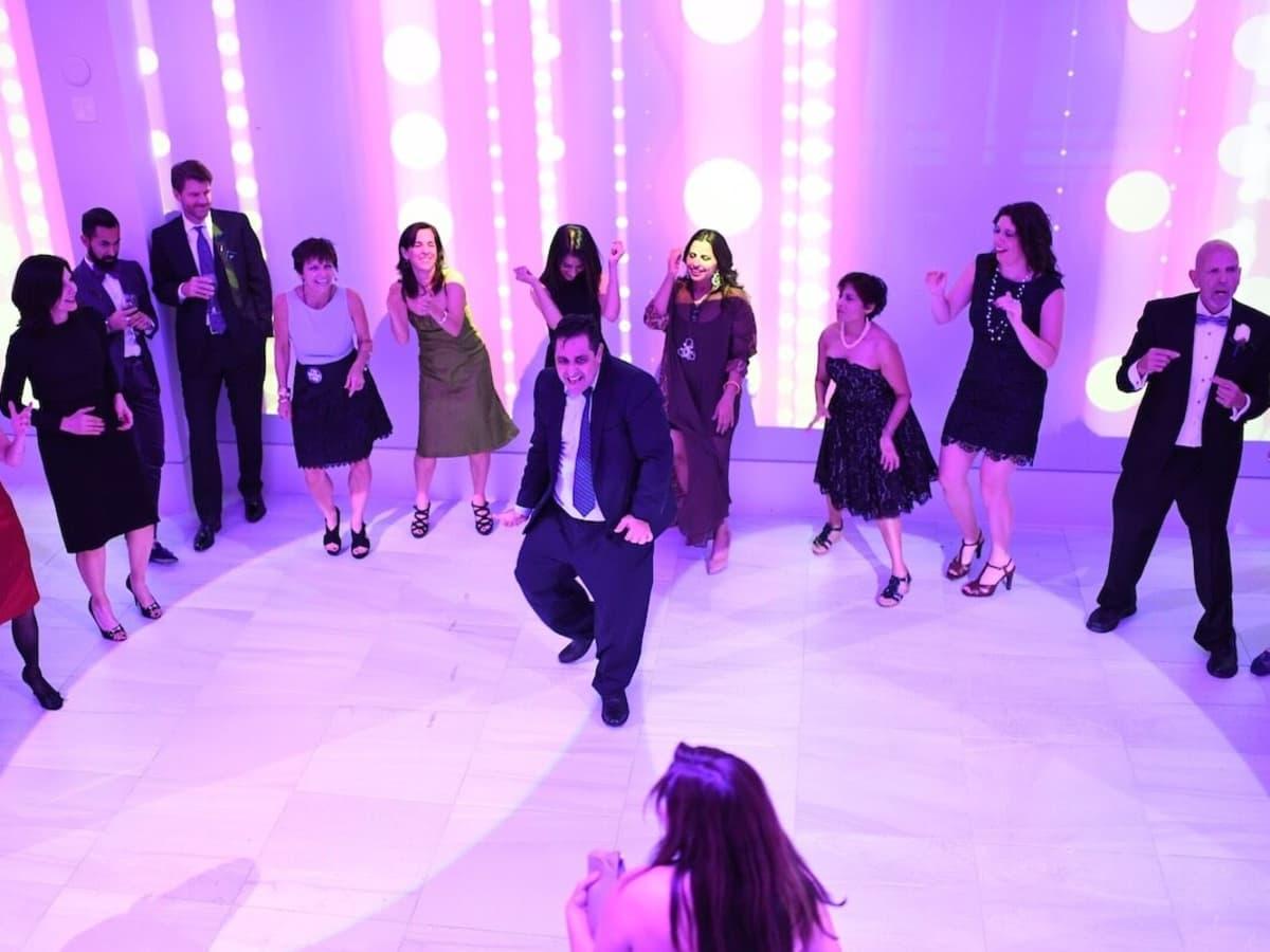 Wedding Pugh Dascoulias Joel Luks solo dance