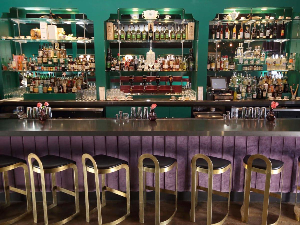 Canard interior empty bar