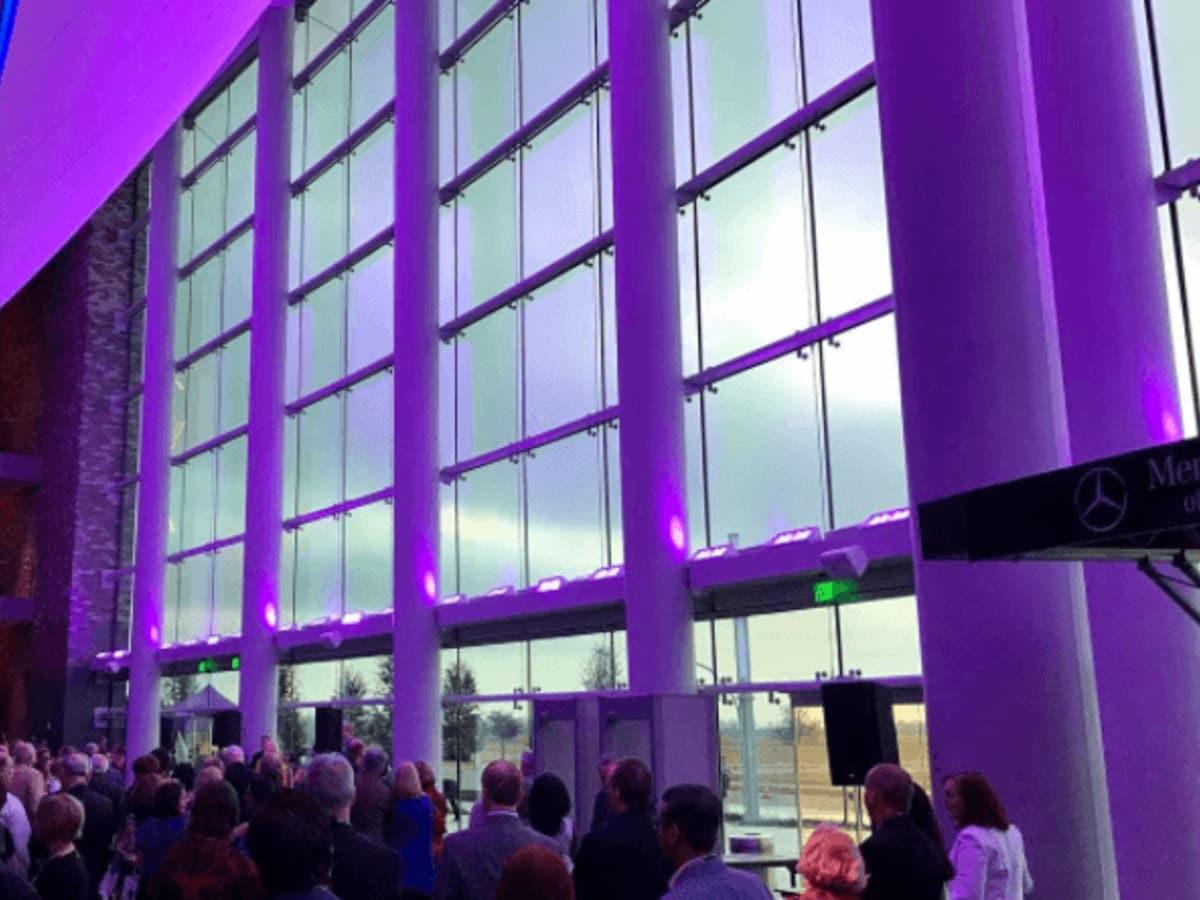 Smart Financial Centre lobby