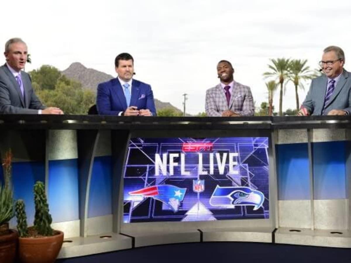 ESPN at Super Bowl in San Francisco