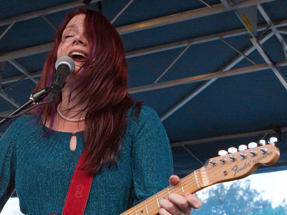 Carolyn Wonderland at North Oak Cliff Music Festival in Dallas