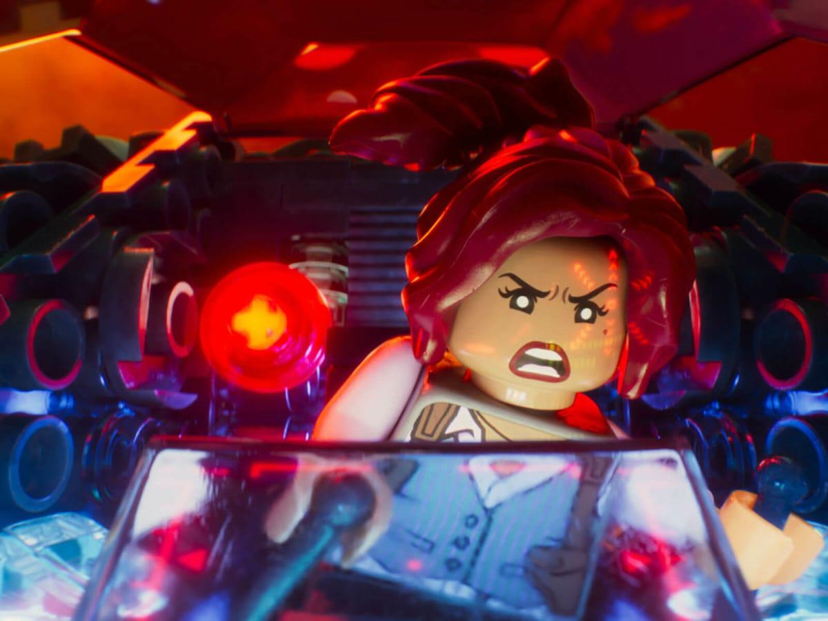 Barbara Gordon (Rosario Dawson) in The LEGO Batman Movie