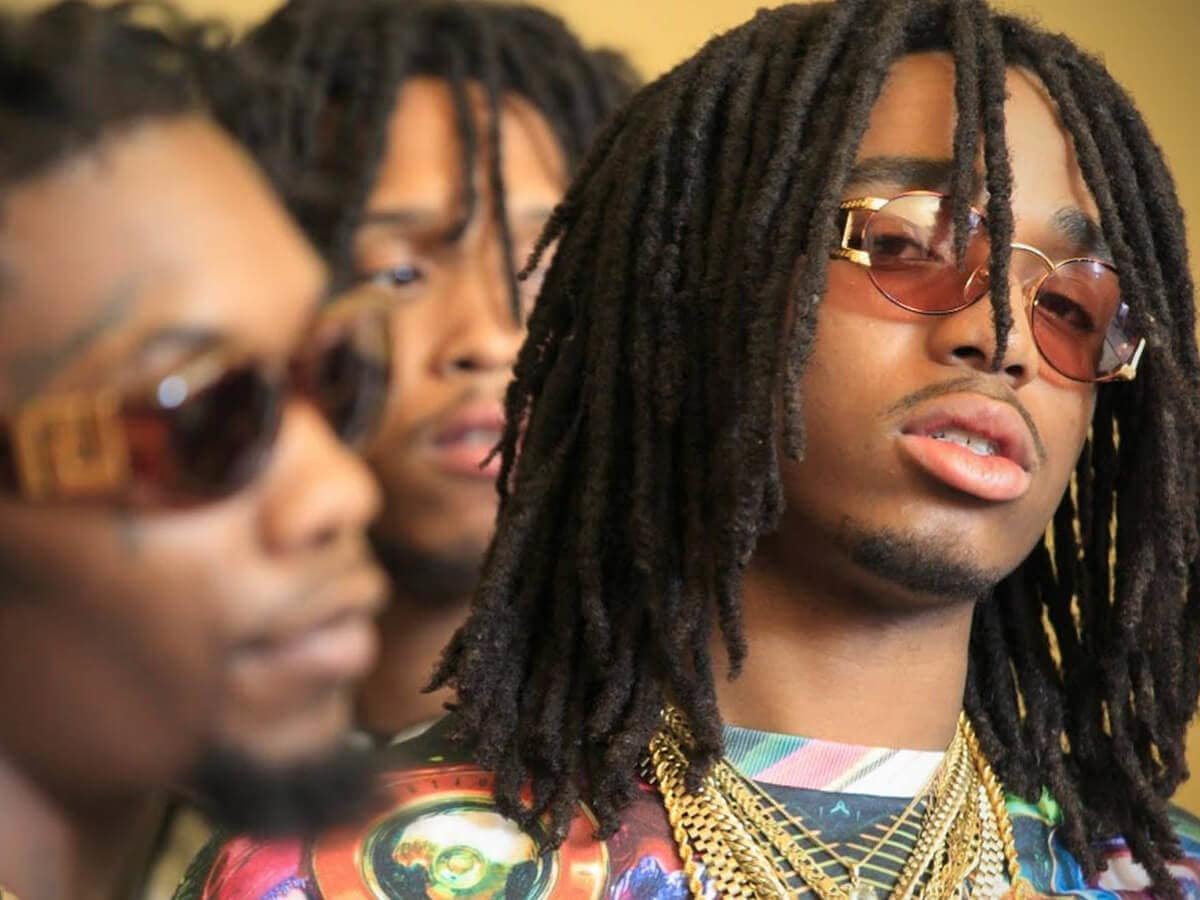 Migos hip-hop group