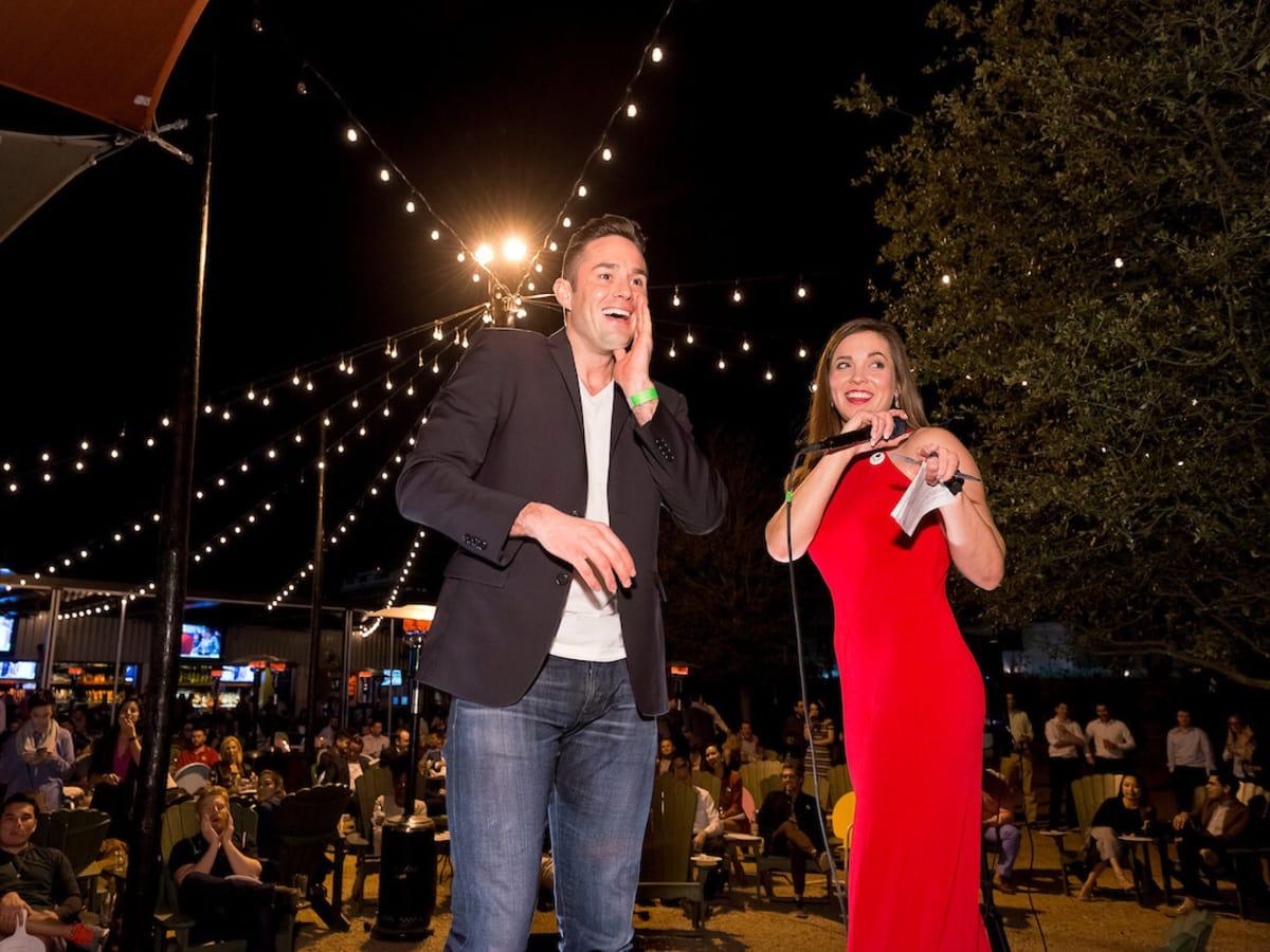 Houston, Red Buds Date Auction, Feb 2017, Alex Hendren, Catie-Beth Truitt