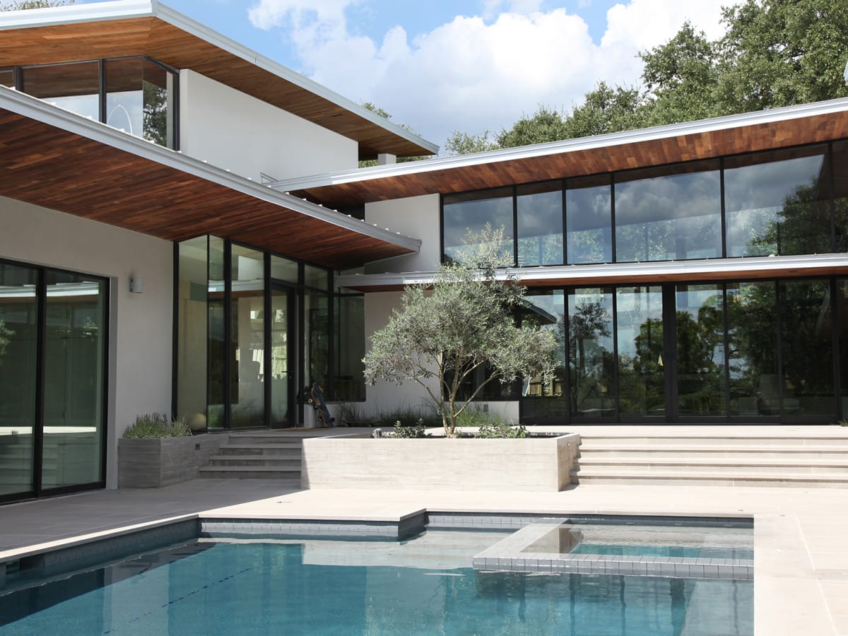 Austin Modern Home Tour 2017 4911 Timberline Dr Rollingwood House Bade Stageberg Cox