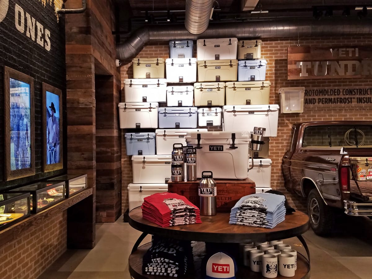 Yeti Coolers flagship store