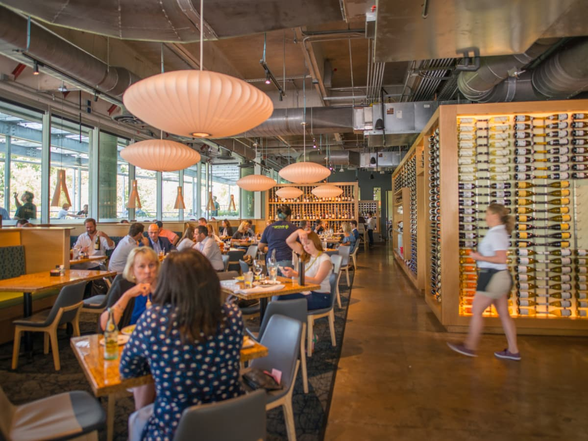 The Grove Wine Bar and Kitchen downtown interior