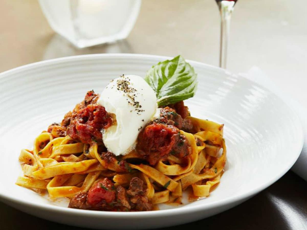 Pinstripes pasta