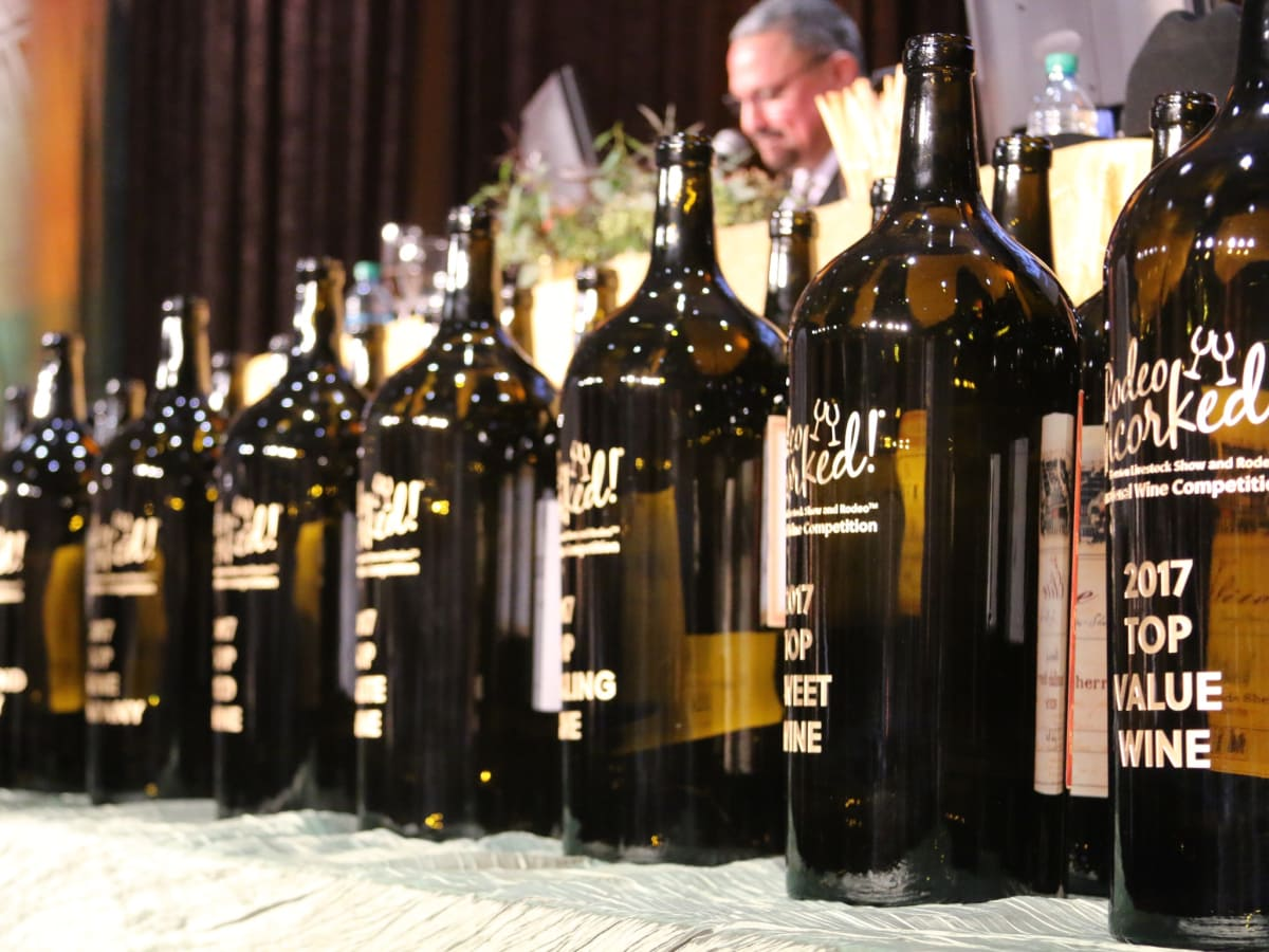 Rodeo wine auction