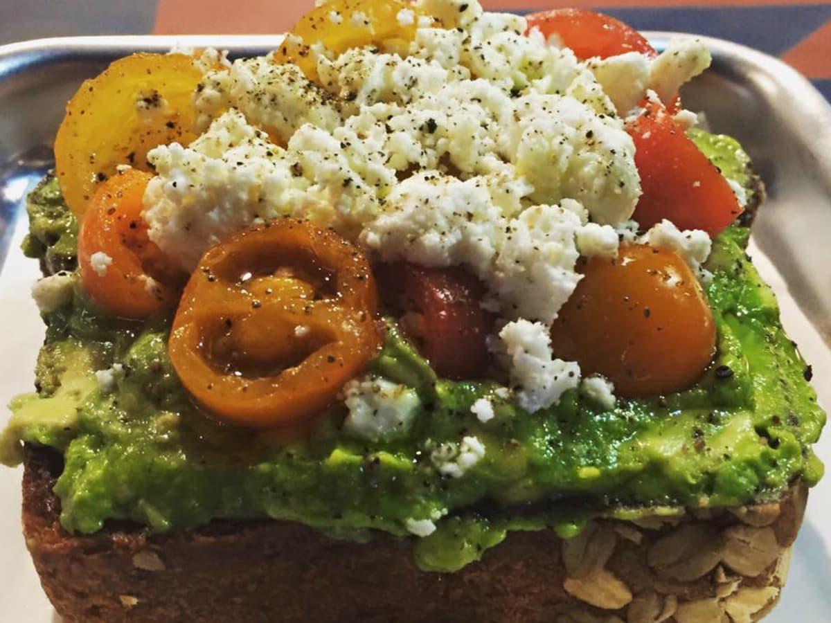 Irene's restaurant downtown Austin ELM Restaurant Group avocado toast