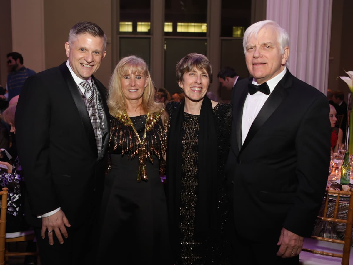 Brad Thien, Cindy Langham, Jane and Dick Schmitt at Stages Gala 2017