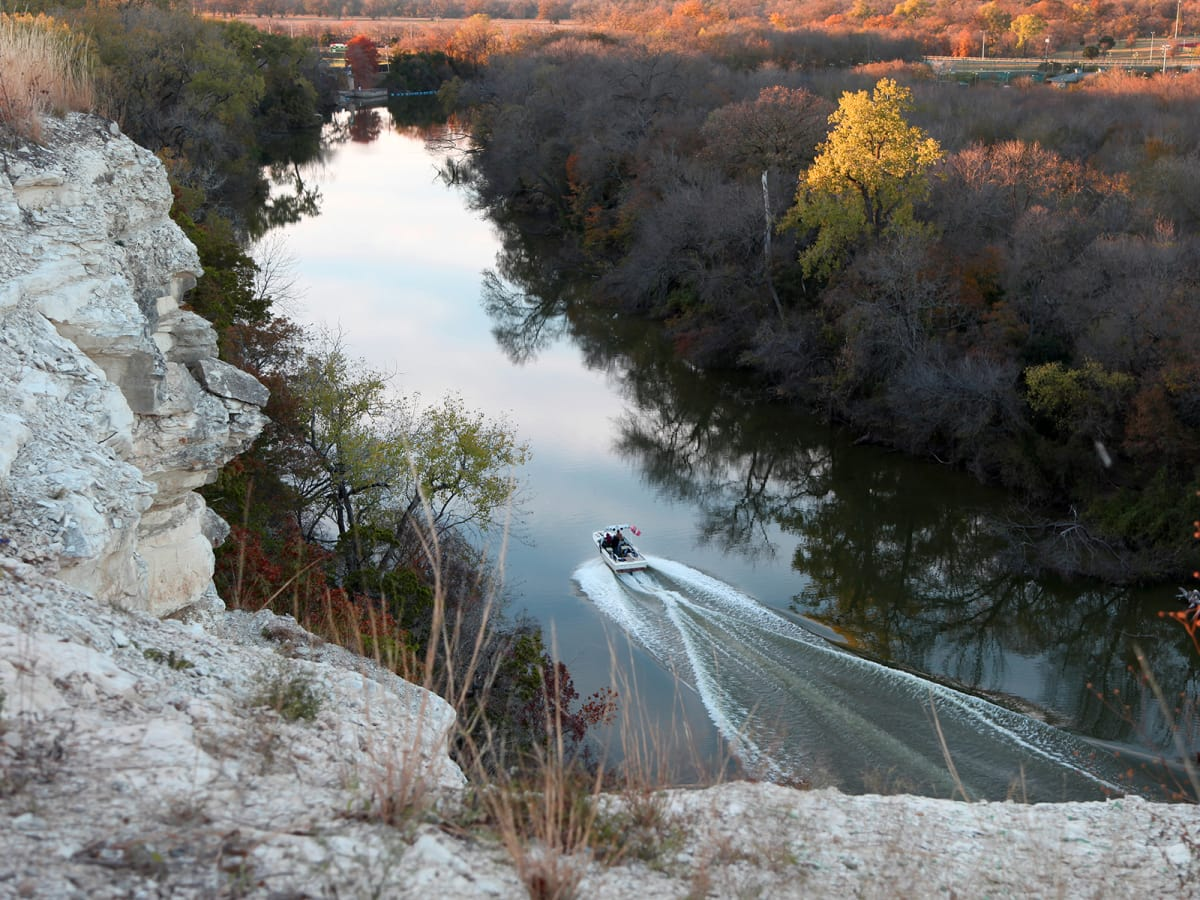 Waco & The Heart of Texas September 2014 Lovers' Leap at Cameron Park
