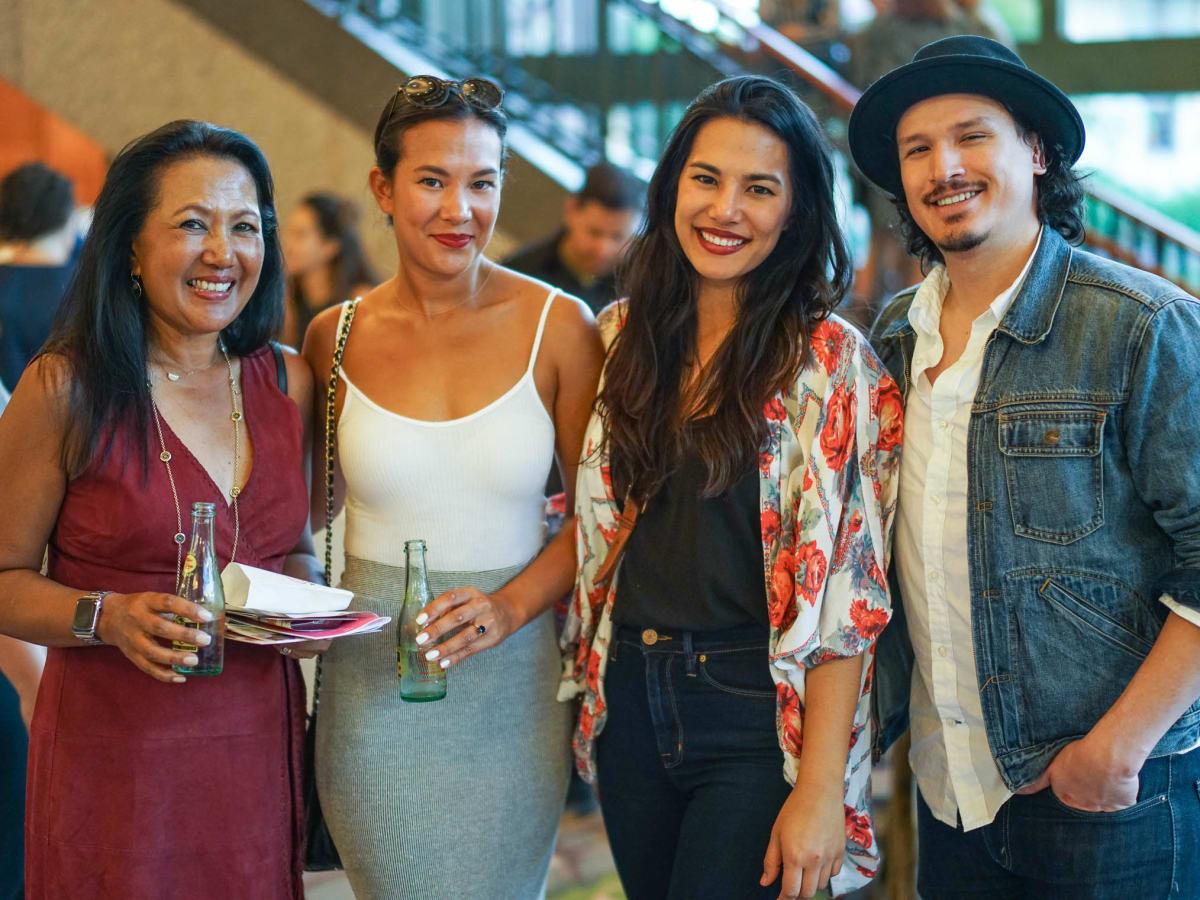 CultureMap Tastemaker Awards 2017 Mary Verhaeghe Dani Verhaeghe Lizzy Verhaeghe Shaun Monforte
