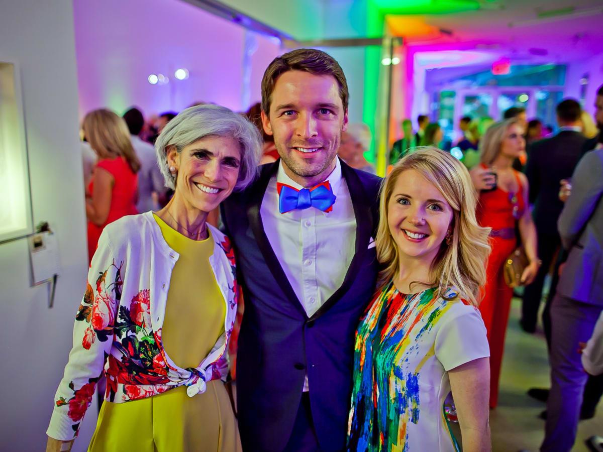 Houston, Blaffer Art Museum Color Splash Gala, April 2017, Judy Nyquist, Nic Phillips, Winnie Phillips