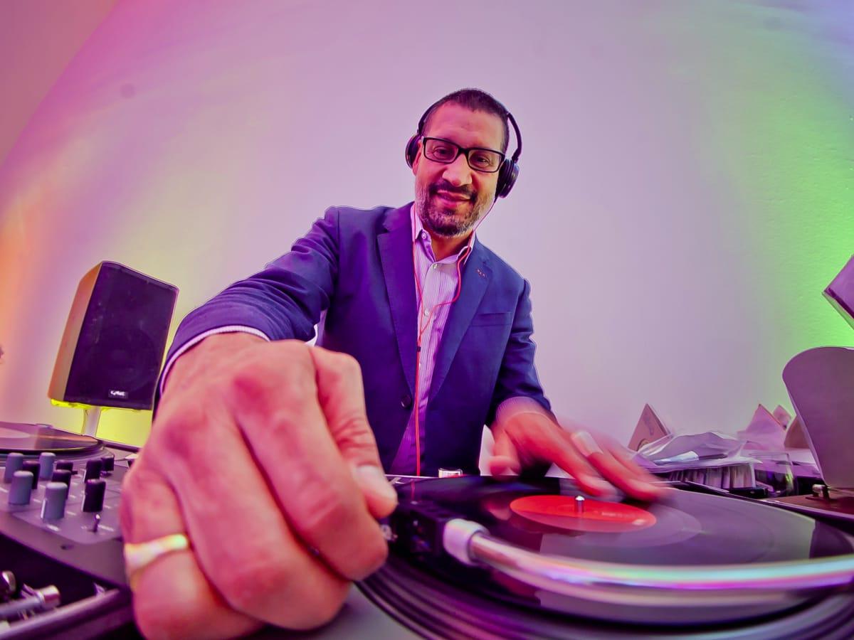 Houston, Blaffer Art Museum Color Splash Gala, April 2017, DJ