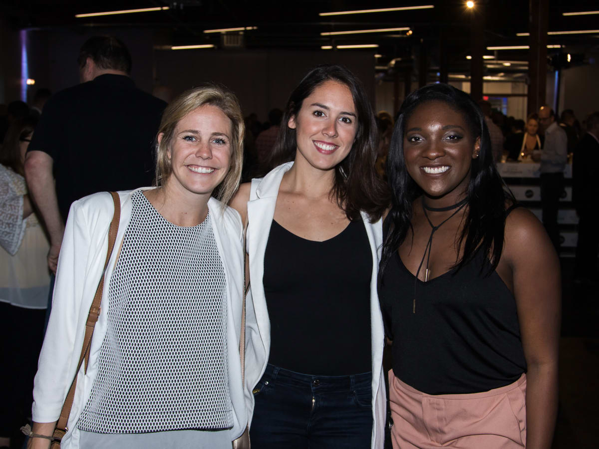Erica Allen, Taylor McNeill, Jessica Nwasike