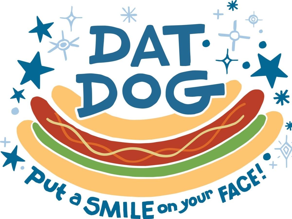 Dat Dog New Orleans logo