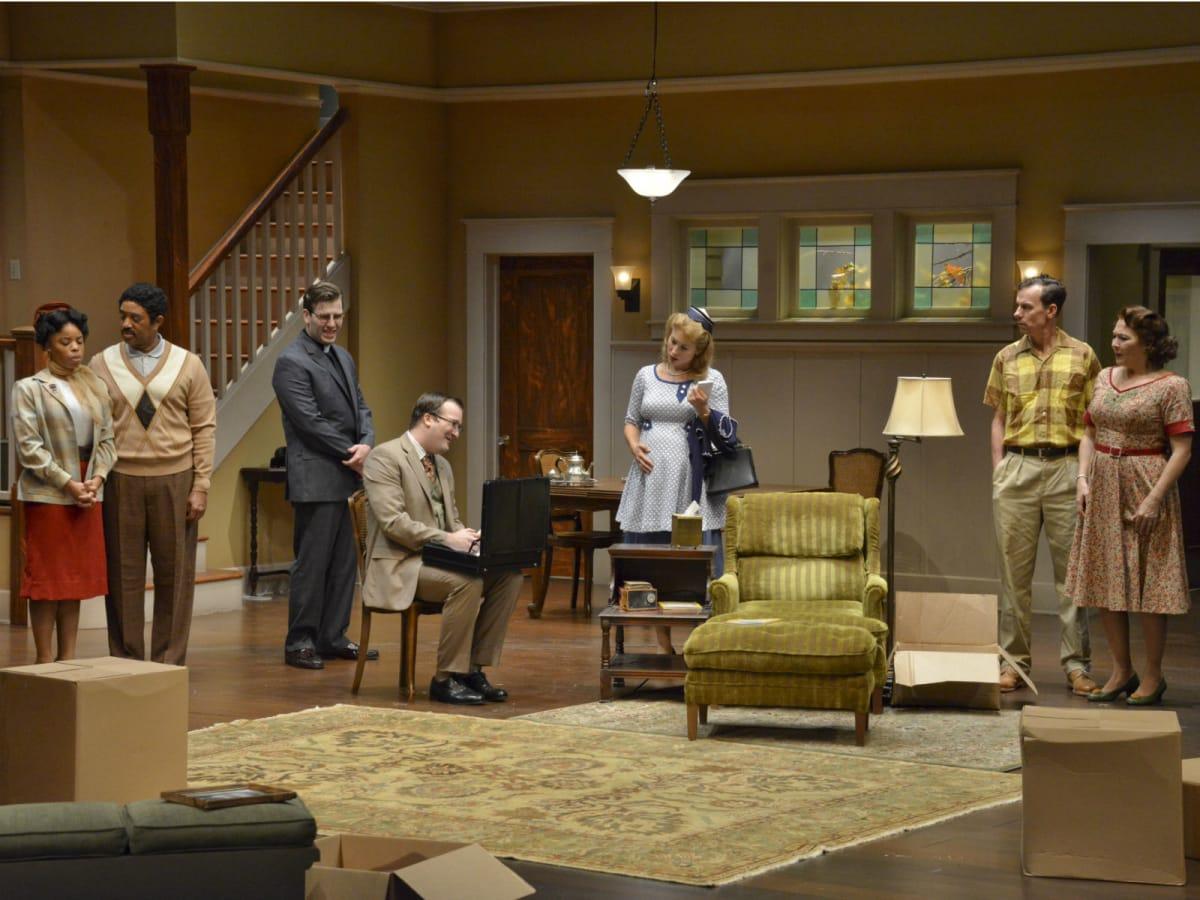 Cast of Dallas Theater Center's Clybourne Park